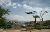 """""""اسرائيل"""" تعلن افتتاح مطار قريب من مطار الملك حسين بالعقبة"""