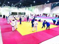 افتتاح بطولة غرب آسيا للجودو