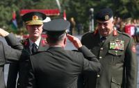 فريحات يستقبل رئيس أركان القوات البرية الأميركي