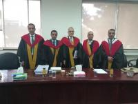 الدكتور محمد الخوالدة ..   مبارك الدكتوراة