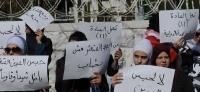 اعتصام امام رئاسة الوزراء للمطالبة بعدم حبس المدين