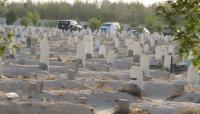 تسوير المقابر الاسلامية والمسيحية في المفرق