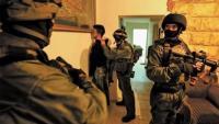 اعتقال 7 فلسطينيين في الضفة