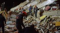 مصرع 20 شخصا بزلزال تركيا
