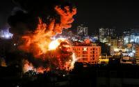 الاحتلال يقصف هدفين في قطاع غزة