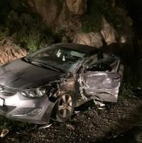 وفاة بحادث تدهور على الطريق الصحراوي