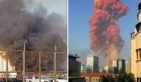 وفاة واصابات فلسطينيين في كارثة بيروت