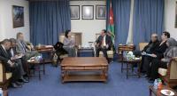 الشؤون النيابية تلتقي السفيرة العراقية