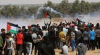 اصابة 37 فلسطينيا برصاص الاحتلال في غزة