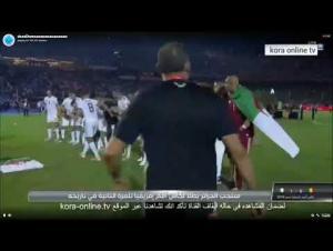 سجود لاعبي الجزائر اجمل لقطة في مباراة الجزائر والسنغال