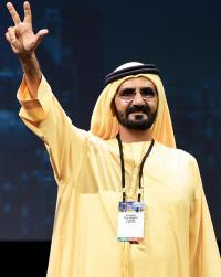 حاكم دبي يطلق مشروع متطور