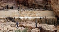 التنمية تقدم مساعدات للأسر المتضررة من السيول