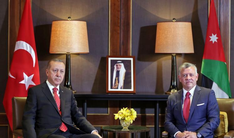 قلق إسرائيلي من زيارة أردوغان للأردن