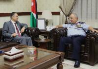 البزايعه يلتقي رئيس جامعة البلقاء التطبيقية