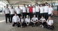وصول الوفد الرياضي الأردني إلى جاكرتا للمشاركة في الألعاب الآسيوية