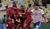 قطر تعود من بعيد وتتعادل مع بارغواي في الكوبا