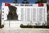 احياء ذكرى الشهداء الأتراك بالسلط