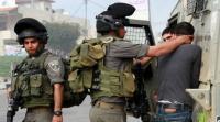 الاحتلال يعتقل 15 فلسطينيا بالضفة
