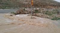 اخلاء القاطنين بالأودية ومجاري السيول في بلعما