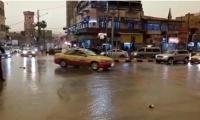 أمطار غزيرة في إربد