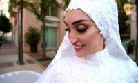 عروس بيروت تكشف ما حدث بعد الانفجار
