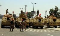الجيش المصري يعلن مقتل 30 مسلحا في سيناء