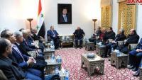 لجنة مشتركة بين المقاولين السوريين والأردنيين