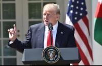 ترامب: موقف روسيا وإيران في سورية عار على الإنسانية
