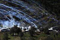 اصابة 174 فلسطينيا في مواجهات مع الاحتلال بالضفة