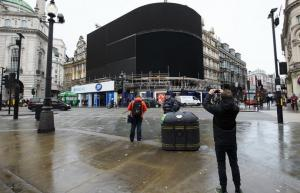 اللوحة الإعلانية الأشهر في لندن تنطفئ