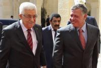 الملك يهاتف عباس للاطمئنان على صحته