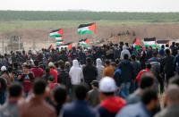 إصابات باعتداء الاحتلال على مسيرات العودة