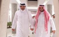 أمير قطر يهنئ بن سلمان