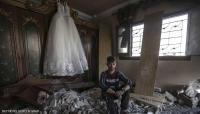 فتاة تهرب من نكبة الحرب السورية إلى القصف في غزة