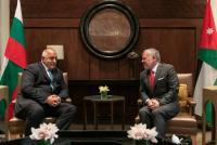 الملك ورئيس الوزراء البلغاري يبحثان العلاقات الثنائية