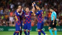 كورونا يضرب 5 لاعبين من برشلونة