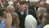 """الأسد """"يعيّد"""" في حماة"""