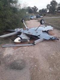 إسقاط طائرة مسيرة في سماء ليبيا
