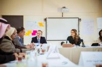 نواب يلتقون الملكة رانيا