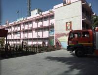حريق داخل مدرسة في إربد