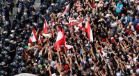 تجدد التحركات الاحتجاجية وسط بيروت