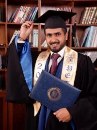 علي بسام الفايز مبارك التخرج