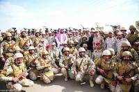 القبض على ( 14) ضابط في الجيش السعودي