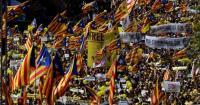 احتجاجات ضخمة في برشلونة