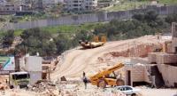 الاحتلال يشرع بشق طريق لبناء أنفاق وجسور في نابلس
