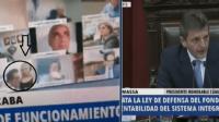 نائب أرجنتيني يستقيل بعد ظهوره في وضع مخل بالآداب