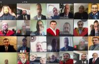 مناقشة 220 رسالة عبر التواصل المرئية بالاردنية