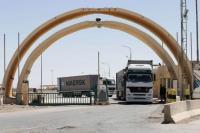 713 شاحنة للنقل البري بين العراق والأردن يوميا