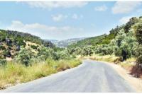 انجاز طريق خلة البطمة في عجلون