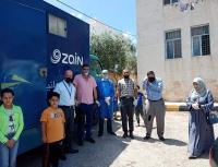 عيادة زين المتنقلة تزور قرى في عجلون